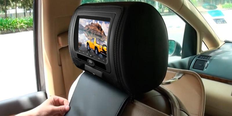 Review of Sonic Audio HR-7 Leather-Style Car DVD Headrests