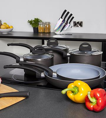 Review of Tower 8-Piece Non-Stick Pan Set