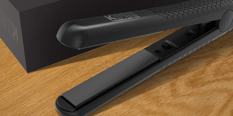 Review of KIPOZI 038UK Mini Hair Straighteners with Travel Bag