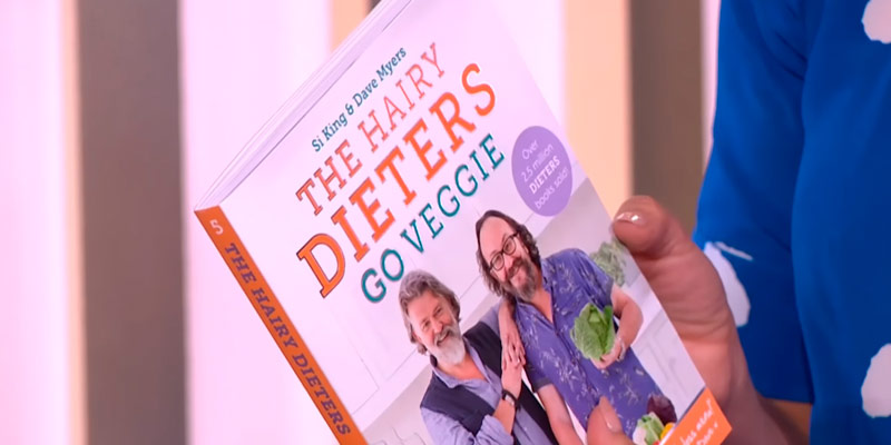 Review of Hairy Bikers The Hairy Dieters Go Veggie Paperback