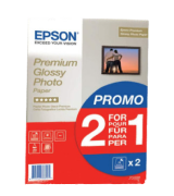 Epson 2x15 sheets 1-pack A4 Premium Glossy Photo Paper