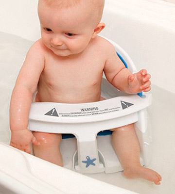 Review of Dreambaby Super Comfy Bath Seat With Heat Sensing Indicator
