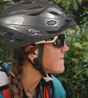Review of Sport Direct SH518 Vent Mens Bicycle Helmet