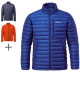 Rab Microlight Jacket highly packable and warm down jacket