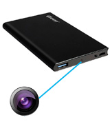 Corprit MC263+16GTF Power Bank with Hidden Camera