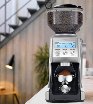 Review of Sage BCG820BSSUK Smart Grinder Pro Coffee Grinder
