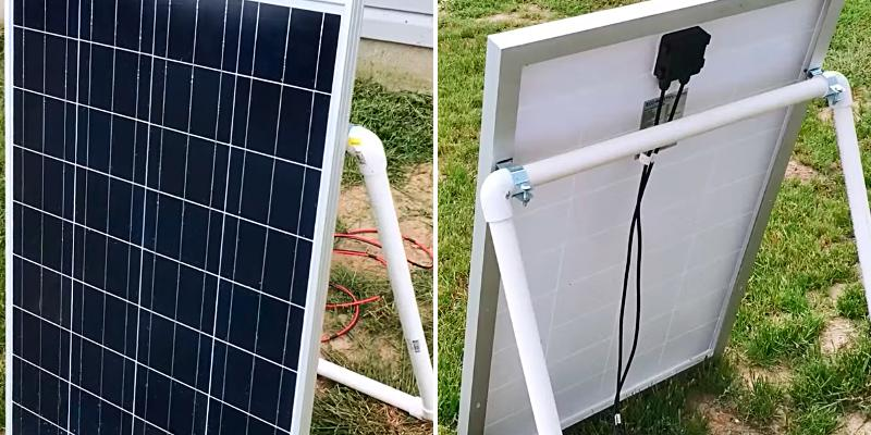 ECO-WORTHY Solar Panel Kits in the use