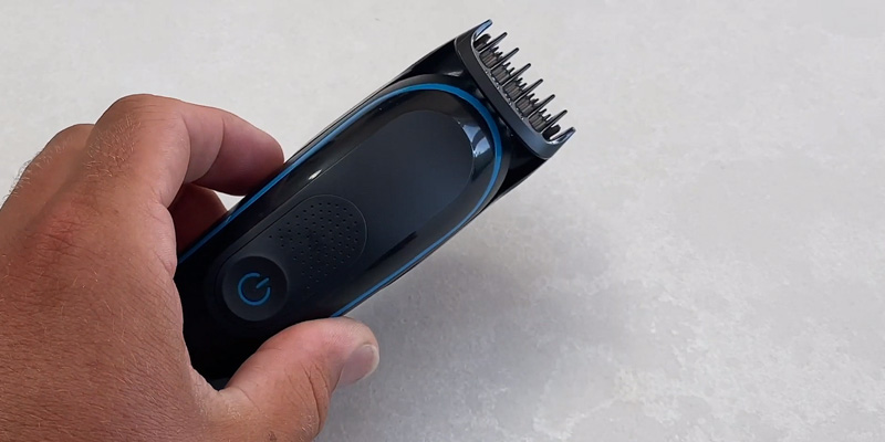 Braun MGK3245 7-in-1 Rechargeable Hair Clipper Beard Trimmer in the use