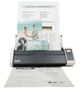 Doxie DX300 Wireless Wireless Rechargeable A4 Document Scanner With Automatic Document Feeder