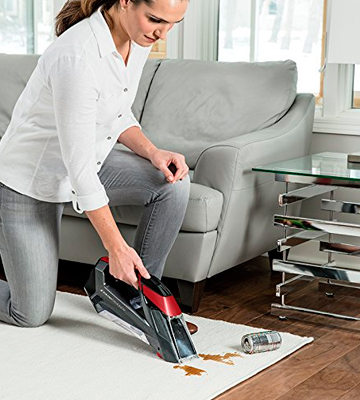 Review of Bissell 20056 Stain Eraser Cordless Spot Carpet Cleaner