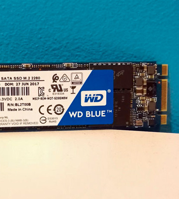 Review of WD Blue 3D NAND SATA SSD Internal Storage M.2