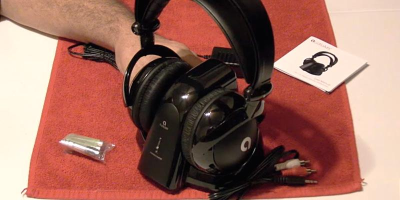 Review of AudioMX Wireless RF Over-Ear Headphones for TV