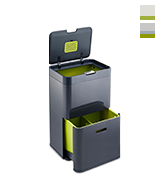 Joseph Joseph Intelligent Waste Totem, 48 L Waste Separation and Recycling Unit