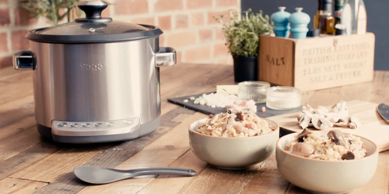 Review of Sage BRC600UK Risotto Plus Multi Cooker