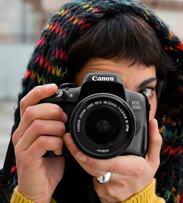 Review of Canon EOS 750D Digital SLR Camera with 18-55 mm Lens