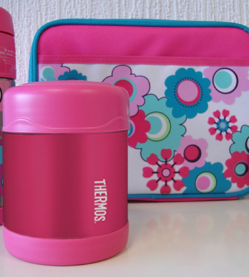Review of Thermos 056895 FUNtainer Food Flask, Pink, 290 ml