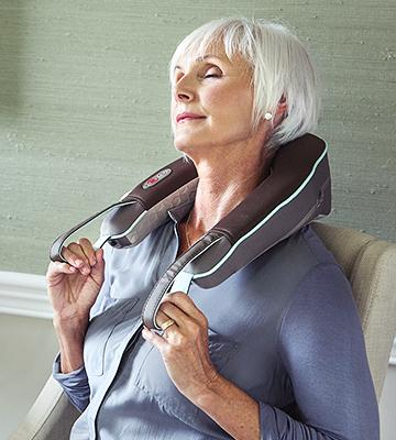 Review of HoMedics Neck and Shoulder Massager with Heat