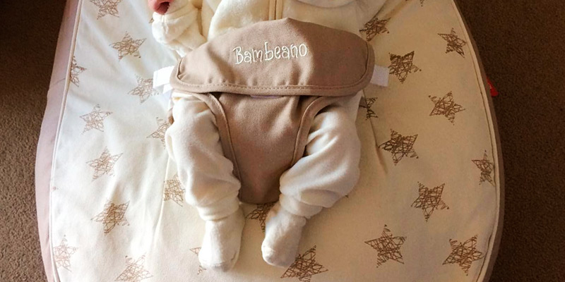 Review of Bambeano Baby Bean Bag Natural Cream Support Chair - Natural - With FREE 'My 1st Bean Bag' Cover