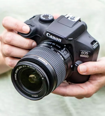 Review of Canon EOS 4000D DSLR Camera and EF-S 18-55 mm f/3.5-5.6 III Lens
