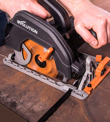 Review of Evolution Power Tools R185CCS Multi-Material Circular Saw