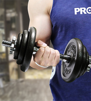 Review of ProIron PRKCAS20K Cast Iron Adjustable Dumbbell Set