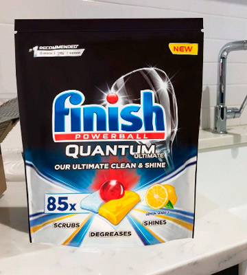 Review of Finish Quantum Ultimate Dishwasher Tablets
