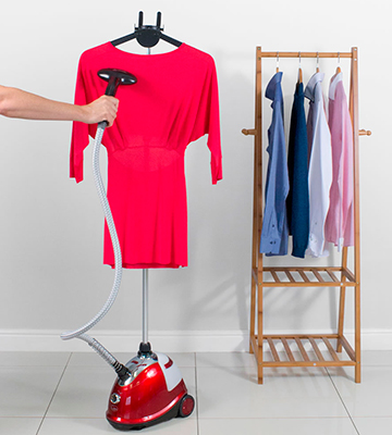 Review of Quest 42320 Red Upright Garment Steamer