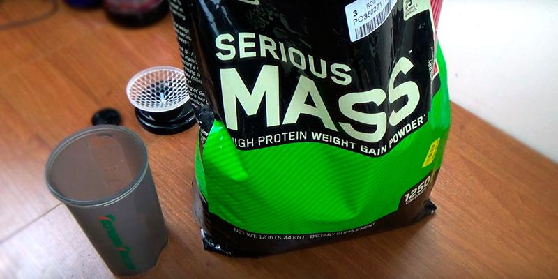 Review of Optimum Nutrition Serious Mass