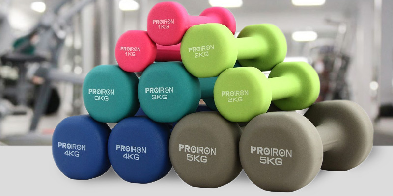 Detailed review of ProIron Home Gym Neoprene Dumbbell Set