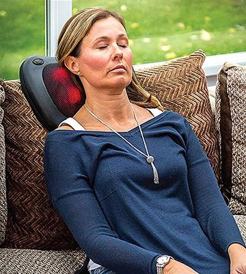 Review of Comfort Supplies Premium Shiatsu Massage Cushion with Heat