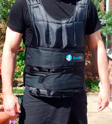 Review of BodyRip bodyrip_vest_20 Deluxe Weight Vest