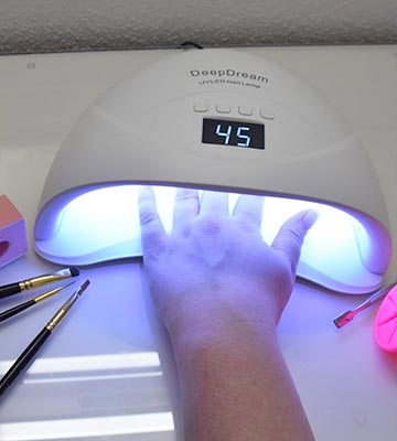 Review of DeepDream UV LED Nail Lamp Professional Fast for Gel Nails