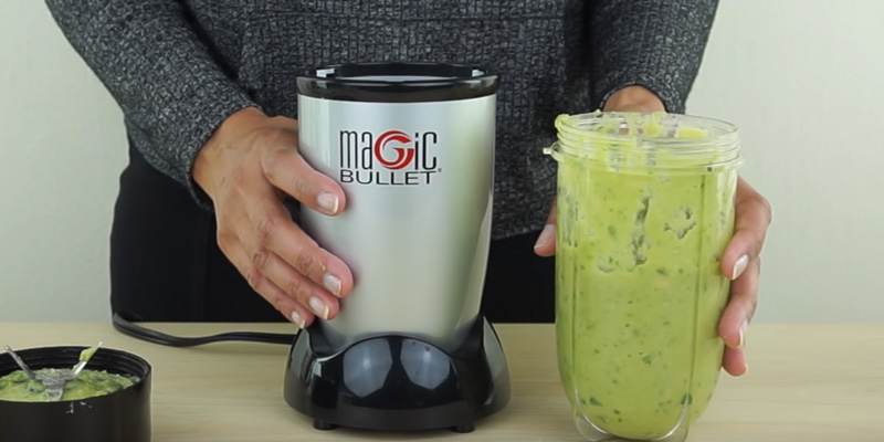 Nutribullet Magic Bullet Blender in the use