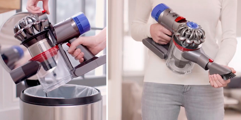Dyson V7 Absolute Cordless Vacuum Cleaner in the use