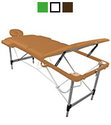 Linxor Light Brown Folding Massage Table