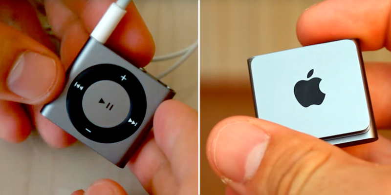 Apple iPod Shuffle in the use