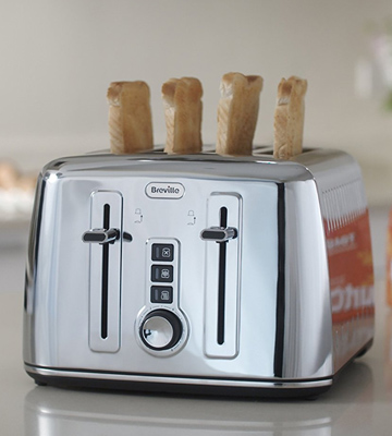 Review of Breville VTT571 4-Slice Toaster