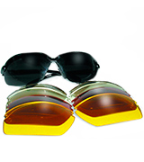 Global Vision C-2000 Shatterproof Wraparound Shooting Glasses