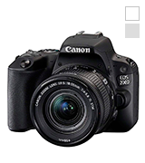 Canon EOS 200D DSLR Camera + EF-S 18-55 mm f/4-5.6 IS STM Lens