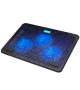 TeckNet 846978 12-17 Quiet Laptop Cooler Cooling Pad with 3 USB Powered Fans