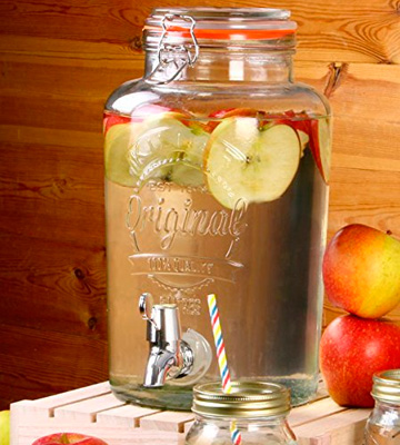 Review of Kilner Garden Party Beverage Dispenser for a Vintage Beverage Service
