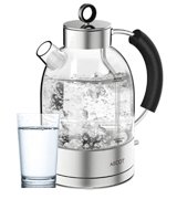 ASCOT 1.5L Eco Glass Water Tea Kettle