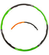 MiraFit Foam Padding Weighted Fitness Hula Hoop