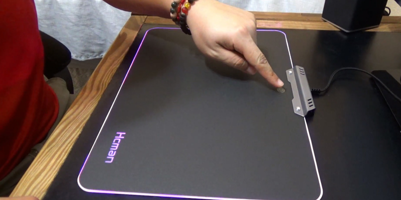 Review of Hcman Hcpad01 LED RGB Gaming Mouse Pad