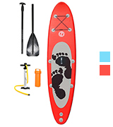 Two Bare Feet TBFSUPENT ENTRADIA II Inflatable Stand Up Paddle Board iSUP