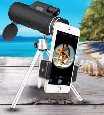 Review of JoyGeek JGMT01-01-UK Handheld Monocular Telescope with Tripod