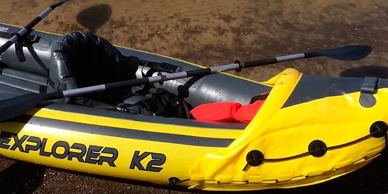 Intex Explorer K2 2-Person Inflatable Kayak in the use