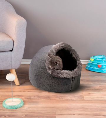 Review of VERTAST Hideout Cave Cat Bed