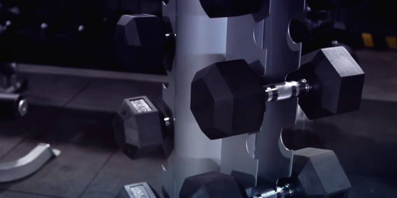 Detailed review of Bodymax Rubber Hex Dumbbells