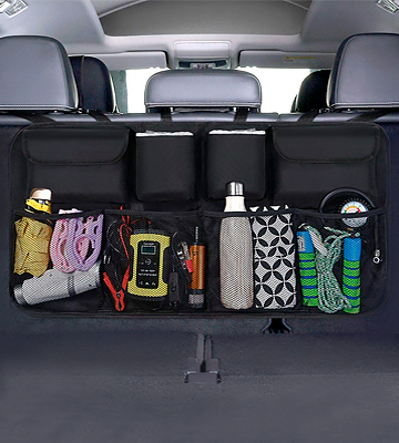 Review of URAQT Waterproof Car Boot Organiser